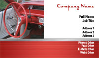 Classic Car Business Card Template